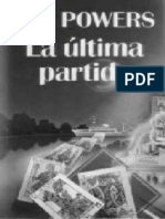 La Ultima Partida - Powers_ Tim