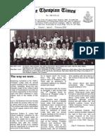 Thespian Times 1 5 Feb 09