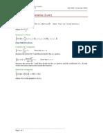Maths Integration