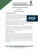 El Canon Minero en El Peru - Derecho Minero