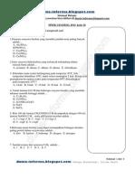 Soal SPMK UB 2014 Kimia Kode 26