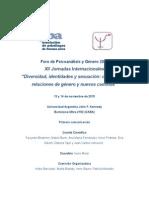 XII Jornadas del Foro de Psicoanálisis y Género (APBA) Primera comunicación.doc