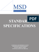 MSD Standard Specifications 090109