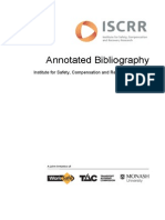 011 Annotated Bibliography