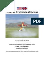 Manual Aerofly Delux