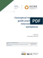 012 Conceptual Models to Guide Psychosocial Determinants 2010
