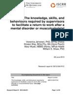 044 Knowledge Skills Behaviour of Supervisors