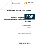 022 Employer Incentives for RTW WISE