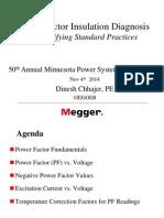 Power Factor Insulation Diagnosis
