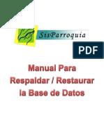Manual de Respaldo-Restauracion de La BD