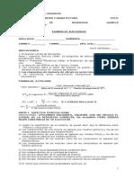Quimica Tecnica- Examen de Suficiencia - 2011