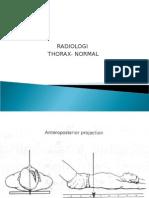 Persentasi Radiologi Anatomi Thorax