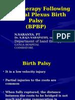 Brachial Plexus Birth Palsy New
