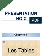 Cours No 1 Presentation No 2
