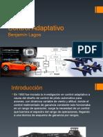 Control Adaptativo - Benjamín Lagos