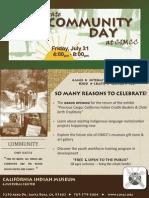 Community Day at CIMCC
