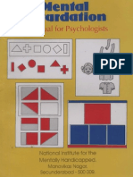 A Manual for Psychologists