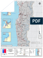 5. Región de Coquimbo, Mapa de Riesgo, Variable de Riesgo Tsunami-Volcánica