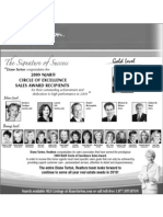 2009 Circle of Excellence Ad - Diane Turton, Realtors