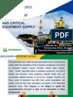 Presentation Procurement Department Petrobras Rio Oil Gas 18set
