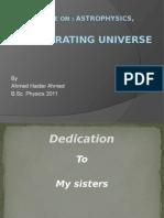 Accelerating universe (general leture)