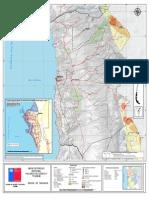 2. Región de Tarapacá, Mapa de Riesgo, Variable de Riesgo Tsunami-Volcánica