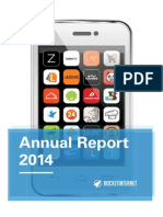 Rocket Annual Report 2014
