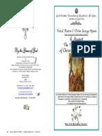 2015 - 6 Aug - Transfiguration