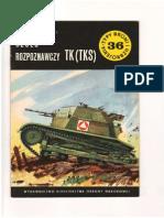 Typy Broni i Uzbrojenia nr 36_Janusz Magnuski_Czołg Rozpoznawczy TK (TKS)