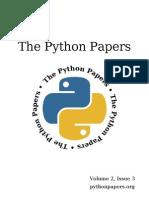 ThePythonPapersVolume2Issue3