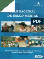 01 Plan Nacional de Salud Mental