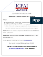 IUJ-PhD in Mgmt (Part Time) -Notification-2015