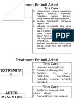Treatment Emboli Arteri