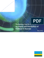 Rwanda_ Fertilizer Import and Distribution Investment Case