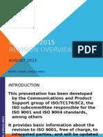 ISO 9001 2015 Draft