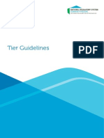 I Tiers Guidelines