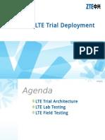 ZTE FDD LTE Trial Deployment Testing Guide