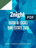 2night estate 2015 - Bari