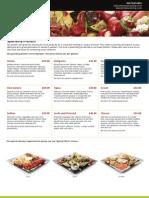 Berkeley Catering Speciality Platters