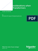 Loading Considerations When Paralleling Transformers