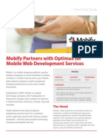 Mobify Partners with Optimus for Mobile Web Development Services