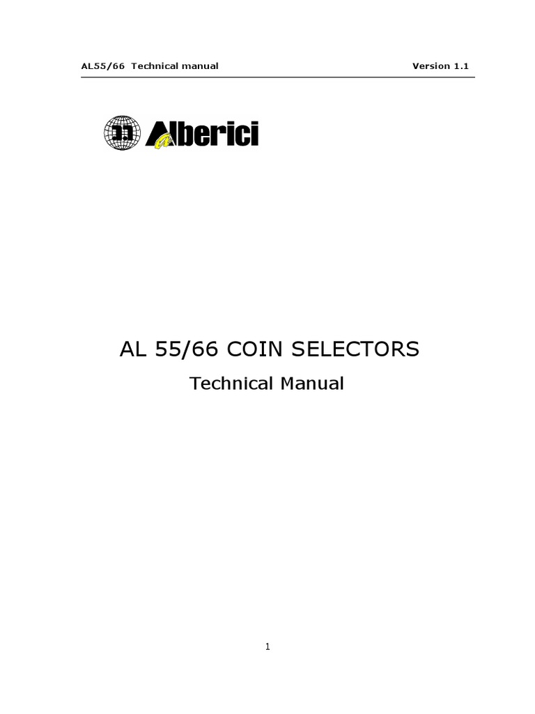 Al55 66 Technical Manual v11 Eng | Communications Protocols | Disc