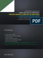 Cálculo Manual Completo de Projeto de MEZANINO METÁLICO