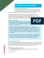 Adult Stills Fact Sheet 2014