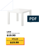 Ikea Funitures