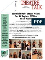 THEATRE TALK - July 2015 Volume 51 — Issue 4
