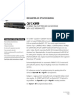 ComNet CLFE1UTP Instruction Manual