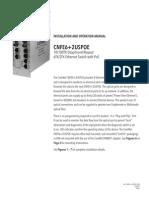 ComNet CNFE6+2USPOES Instruction Manual