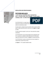 ComNet FVT10D1A2C1M1 Instruction Manual