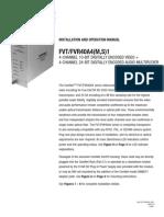 ComNet FVT40A4M Instruction Manual